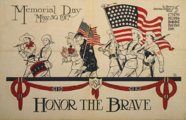 Memorial Day 1917