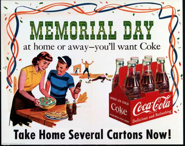 Memorial Day COKE ad